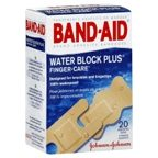 Band-Aid Water Block Plus Adhesive Bandages 20ct assorted
