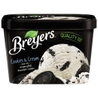 Breyers Ice Cream - Cookies and Cream 1.5 qt