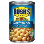 Bush's Garbanzos Chick Peas 16 oz