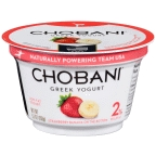 Chobani Greek Yogurt Strawberry/Banana 5.3 oz