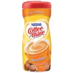 Coffee Mate Hazelnut Powder 15 oz