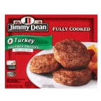 Jimmy Dean Turkey Sausage Patties 8 ct