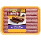 Johnsonville Vermont Maple Syrup Sausage Links 12 ct