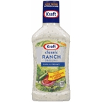 Kraft Ranch Salad Dressing 16 oz