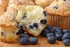 Muffins - Blueberry  4 ct