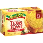 New York Brand - Texas Toast w/garlic - 8 slices