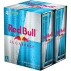 Red Bull Sugar Free 4-12oz cans