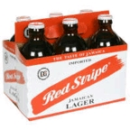 Red Stripe 6 pk bottles