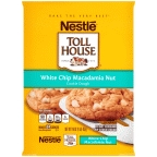 Toll House Cookie Refr. Dough White Chip Macad. Nut 24 ct