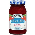 Smuckers Sugar Free Strawberry Preserves 12.75 oz